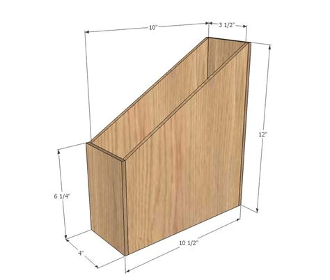 ana white build  wood magazine file   easy diy