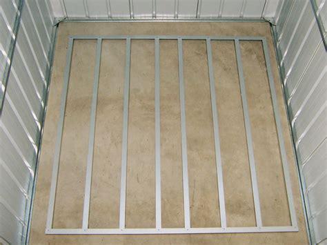 kit plancher pour abri m 233 tal yardmaster de 4 20 m 178 39603