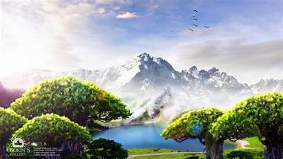 Dream Lake 1366 Wallpapers
