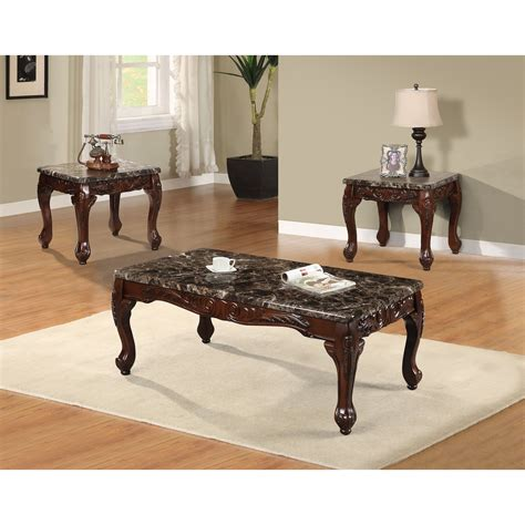 Find the perfect side tables and coffee table to suit your space too. Best Quality Furniture 3 Piece Coffee Table Set & Reviews   Wayfair