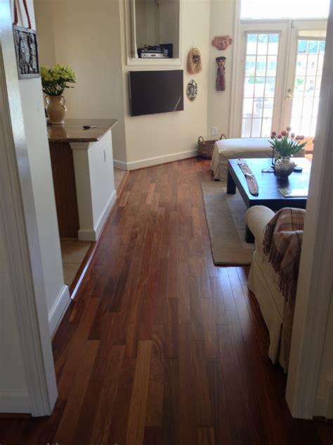 cumaru dark brazilian teak hardwood flooring