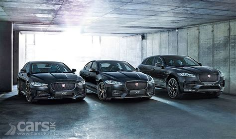 jaguar black edition xe xf   pace limited editions