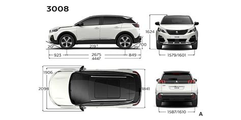 technical specifications    suv peugeot