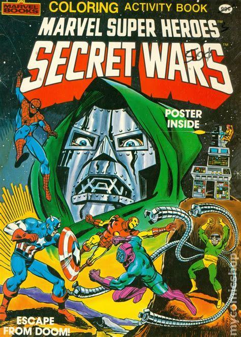marvel super heroes secret wars coloring  activity book