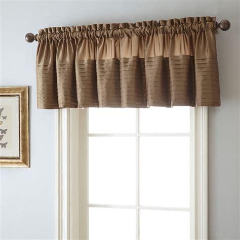 landford 50 x 18 inch rod pocket curtain valance free