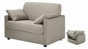 fauteuil lit convertible tissu greige specialiste canape With canapé lit convertible pas cher