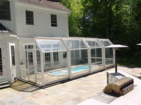 Retractable Sunroom by Swim Spa Enclosures Retractable Enclosures Retractable