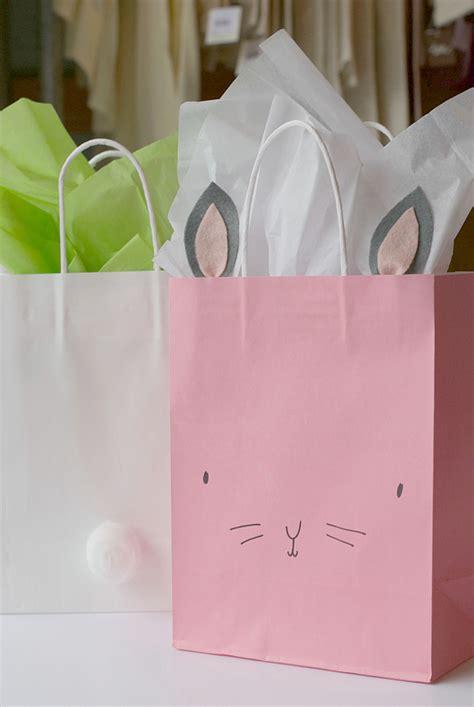 diy bunny easter bags project nursery
