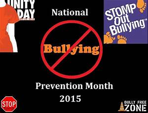 National Bullying Prevention Month 2019 Foremostpromotions