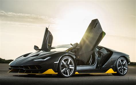Lamborghini Centenario Hyper Car Wallpapers