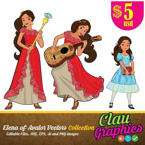 elena  avalor disney latina princess digital