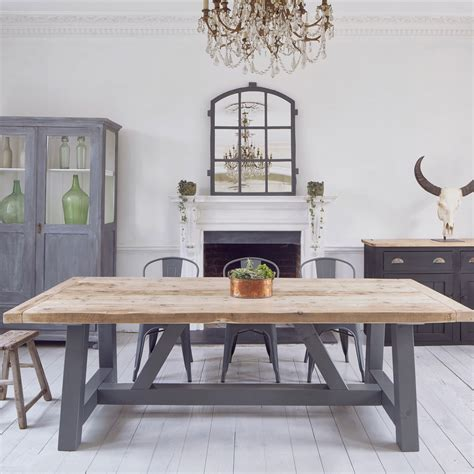 10 seat dining salvaged timber industrial reclaimed dining table