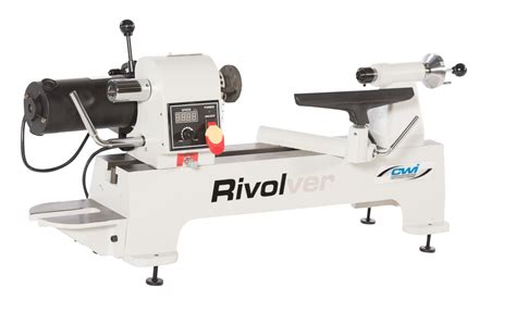 rivolver    variable speed wood lathe cwi