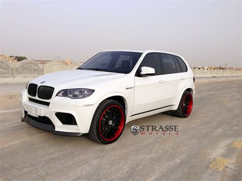 Bmw X5 M Backgrounds by Bmw X5m Suv Strasse Wheels Tuning White Wallpaper