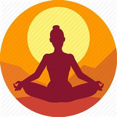 Meditation Icon Icons Clipart Yoga Exercise Sitting