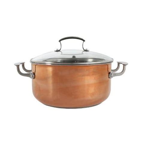 shop shaffer berry  piece copper potsteamer set  day