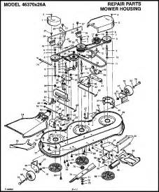 Murray Mower Deck Diagram by Murray Lawn Mower 42 Deck Parts Lawn Xcyyxh