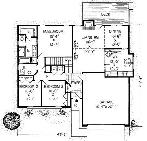 1500 square house plans 1500 square 3 bedrooms 2 batrooms 2 parking space
