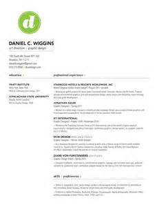 resume graphic design student design tips from the front lines dcwdesign