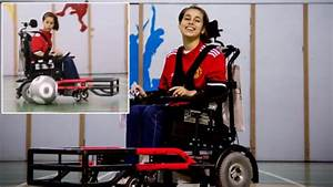 With Cerebral Palsy Becomes First Girl On Soccer