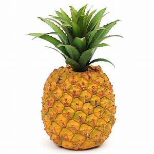 Artificial Pineapple - Plastic Decorative Fake Fruit eBay