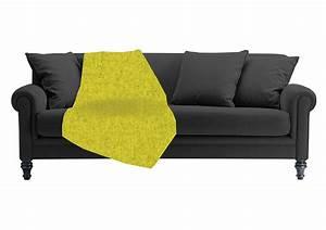 le plaid pour canape pourquoi lutiliser astuces de deco With nettoyage tapis avec plaid canapé orange