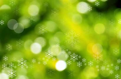 Christmas Background Backgrounds Gold Bokeh Wallpapers Snowflakes