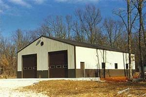 pole buildings and sheds asj construction remodeling With 30x48 pole barn