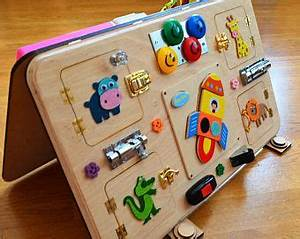 Beschäftigung Für Kleinkinder : busy board activity board montessori toys wooden toys sensory board montessori kid toy ~ Whattoseeinmadrid.com Haus und Dekorationen