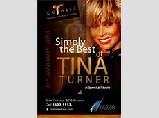 Simply The Best of Tina Turner live tribute act Events