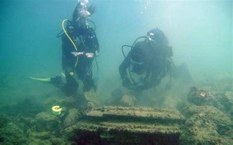 zakynthos  underwater lost city