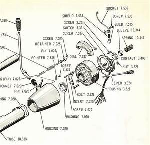 Iso Diagram Steering Column 65 American 440 Conv