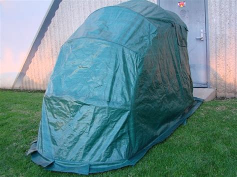 Standard Retractable Portable Motorcycle Shelter