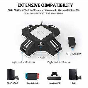 Kx Usb Game Controllers Adapter Converter Video Game