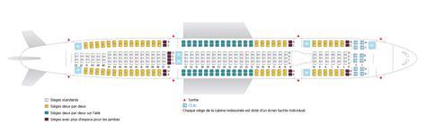 avion air transat siege air transat passe à 9 sièges de front sur airbus a330 300