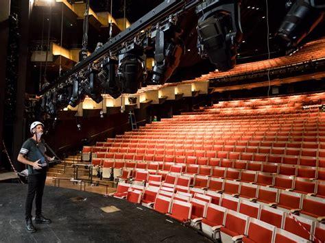 scenes sydney opera house prepares  reopen