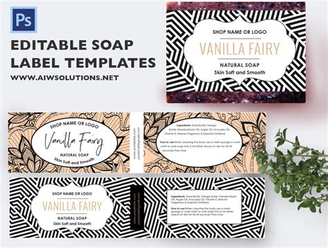 soap label template id aiwsolutions