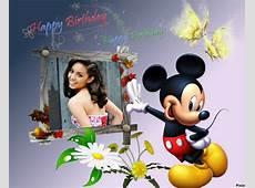 Mickey mouse en tus marcos de fotos gratis « Fotomontajes