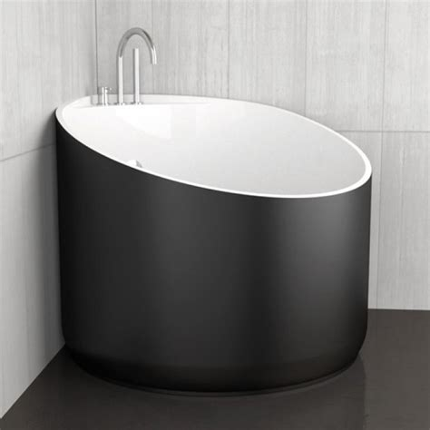 Vasche Da Bagno Mini by Vasca Da Bagno Angolare Rotonda Mini Black Glass Design