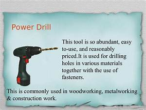 Woodworking Hand Tools And Their Uses