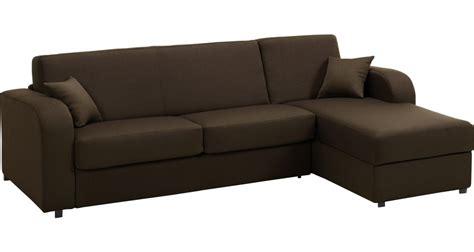 canapé tissu marron canapé d angle rapido convertible tissu marron déhoussable