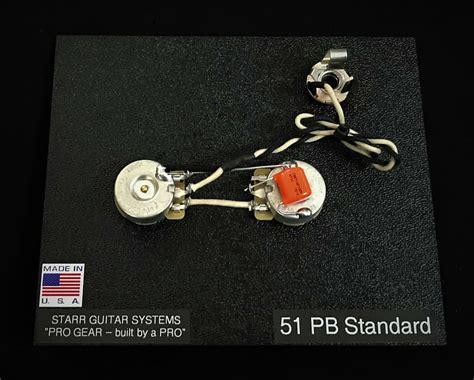 Starr Guitar Systems Wiring Harness Upgrade For Fender