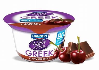 Yogurt Chocolate Greek Cherry February