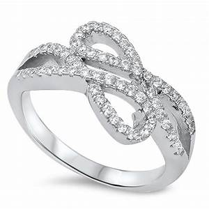 double infinity engagement ring wwwimgkidcom the With double infinity wedding ring