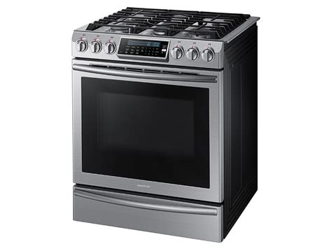 5.8 Cu. Ft. Slide-in Gas Range With True Convection Ranges Snorkel Wood Stove Hot Tub Diy Brick Rocket Cooking Without Power 4 Burner Steel Gas Sunflame Install Chimney Mobile Home Fire Plans New Englander Pellet Customer Service Green Chef Review Vs Oven