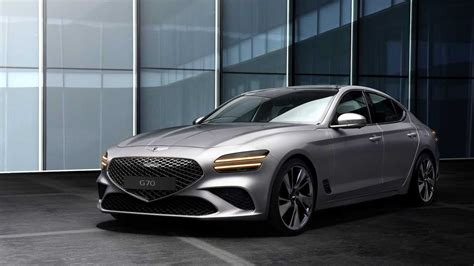 2022 Genesis G70 Official Images Reveal The Expected ...