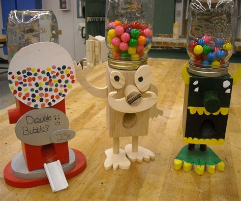 gumball machine  steps  pictures