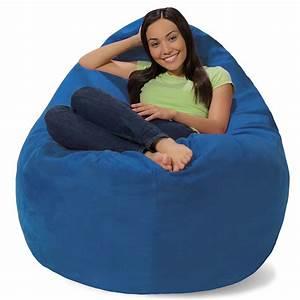 amazoncom comfy sacks huge pillow memory foam bean bag With big comfy bean bag chairs
