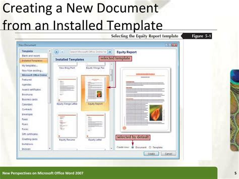 create new template in powerpoint ppt word tutorial 5 working with templates and outlines