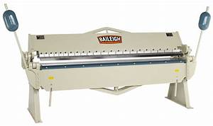 Baileigh BB-9612 Box and Pan Brake